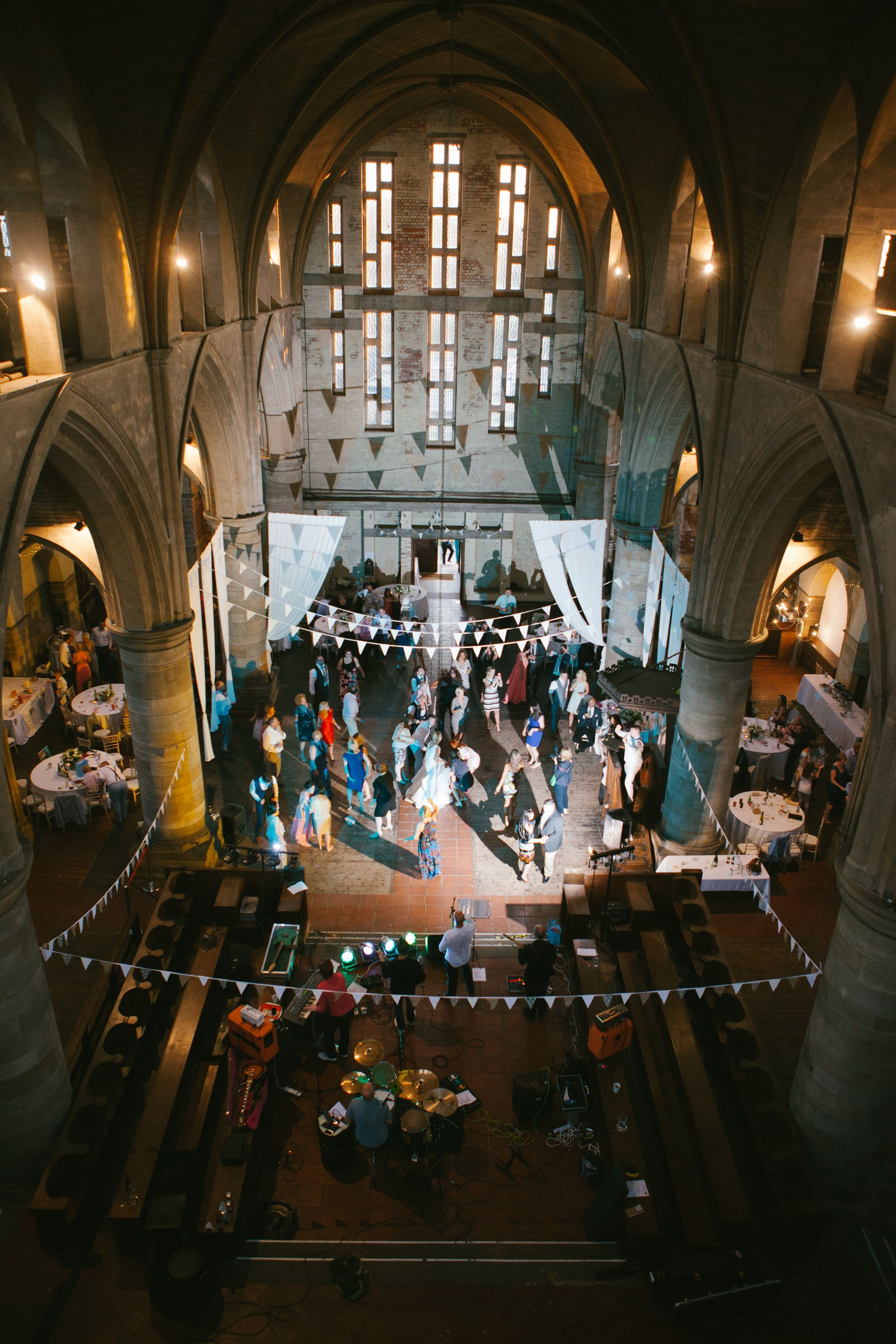 Left Bank Leeds Church Venue Party Wedding Photography Our