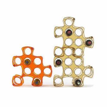 Puzzle Wine Rack (Dagan Design, $68/piece)