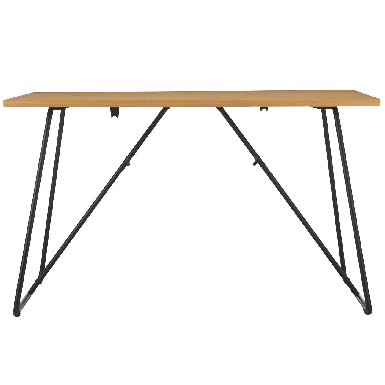 Oak Bench Large W100xd30xh44cm Foldable Table Folding Dinning Table Table