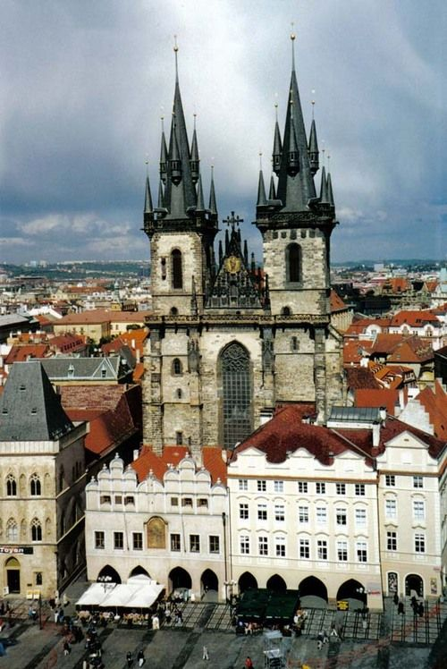this church, this city, this sky.  i want it all back.  Prague, CZ