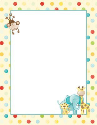 Great Papers Baby Zoo Animals Letterhead 100 Pack Staples Baby Zoo Animals Zoo Babies Jungle Animals Baby Shower