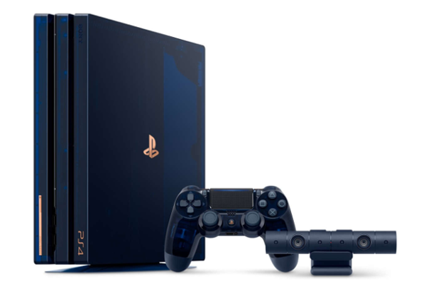500 Million Limited Edition Ps4 Pro Gaming Console Launched Price Availability Videos Sony Playstation Ps4 Ps4 Pro Console Playstation Consoles