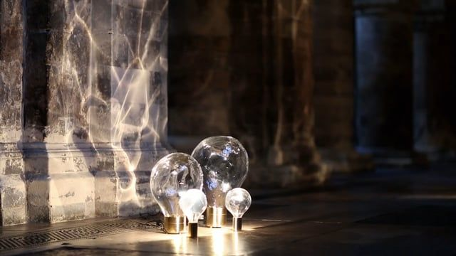 Ripple A Moving Light Designed By Poetic Lab For Lobmeyr Lighting Design Underwater Lights Lighting Collections