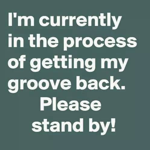 Image result for getting in the groove