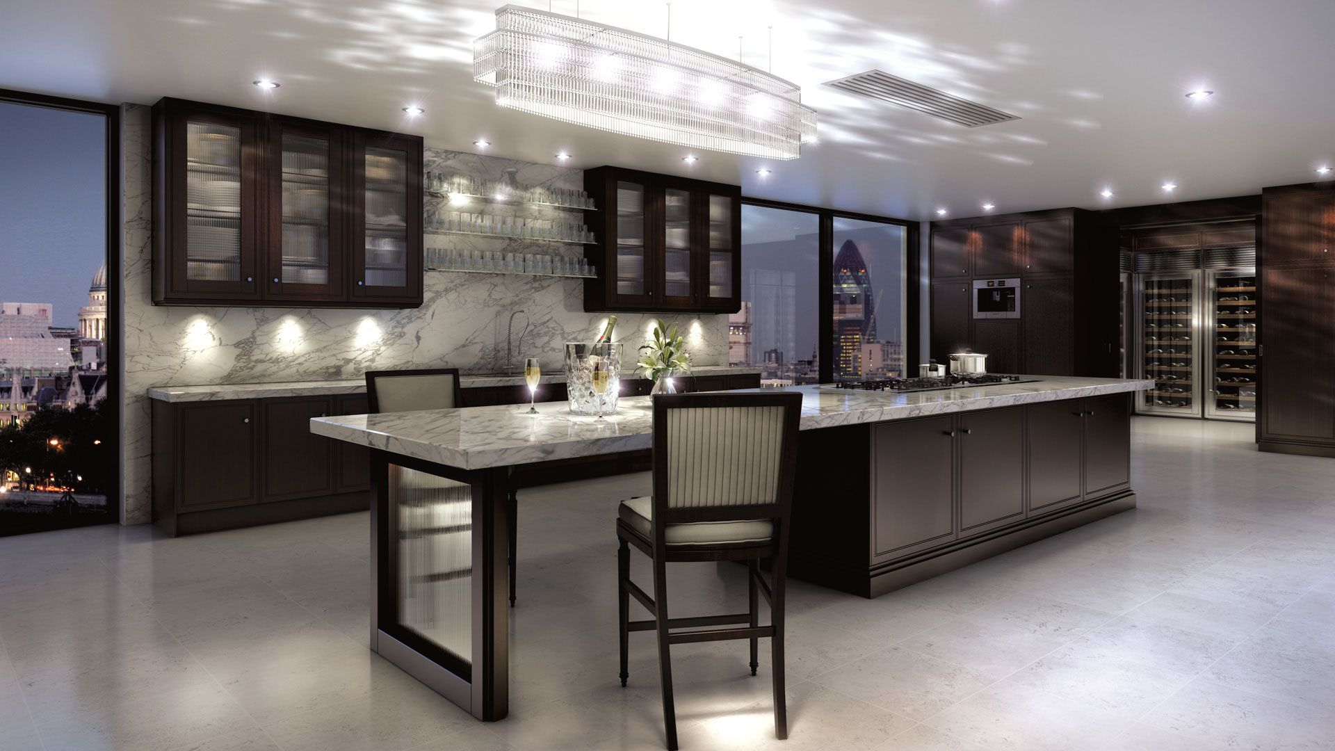 Metro Deco Clive Christian kitchen and design