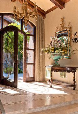 An elegant entry