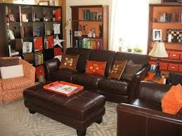 orange, blue, brown and grey color scheme for home - Google Search