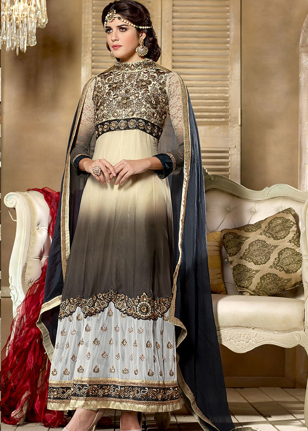 be363d791cf Shabana Cream Suit