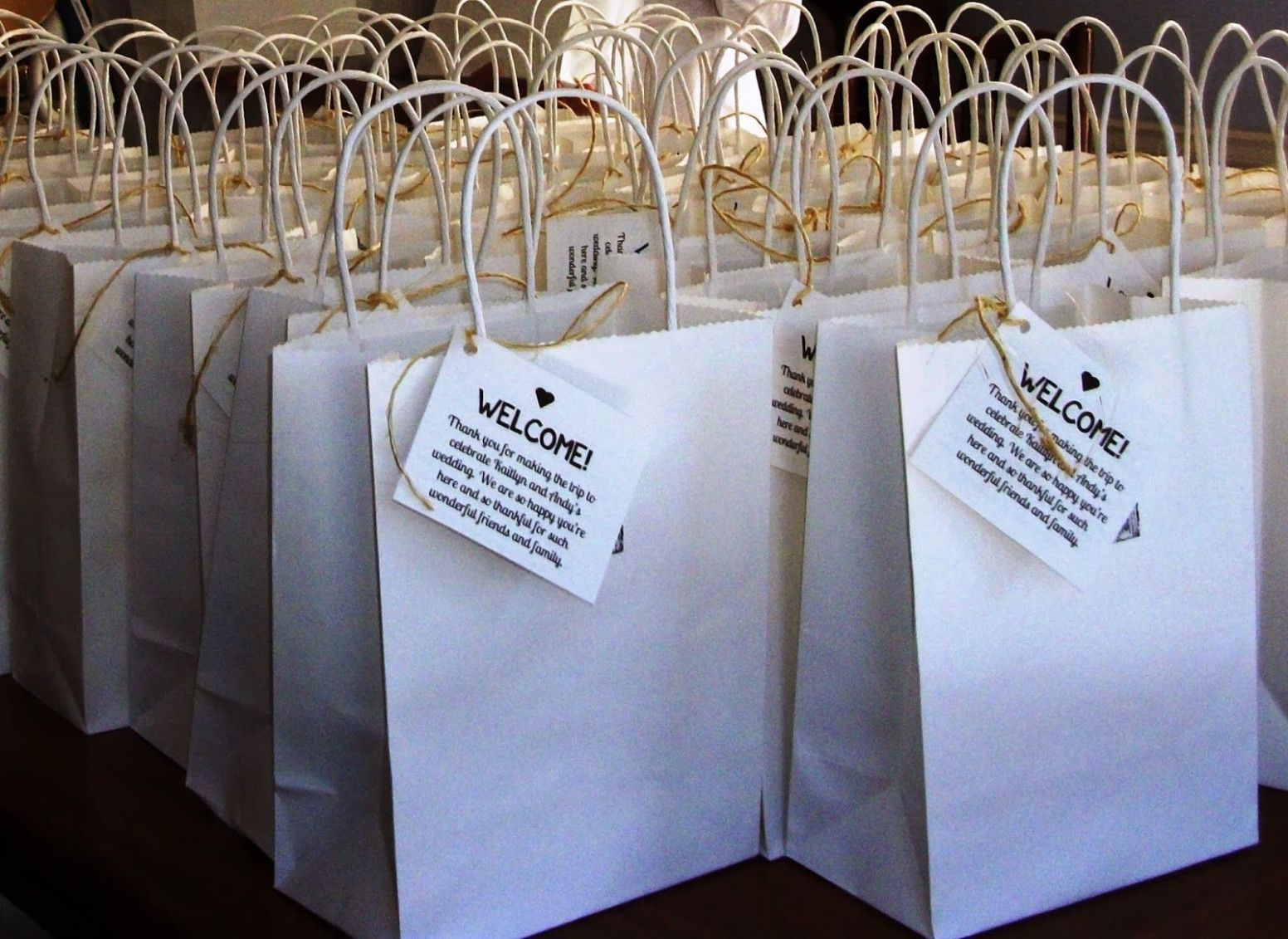 Wedding Gifts Bags For Out Of Town Guests Guest