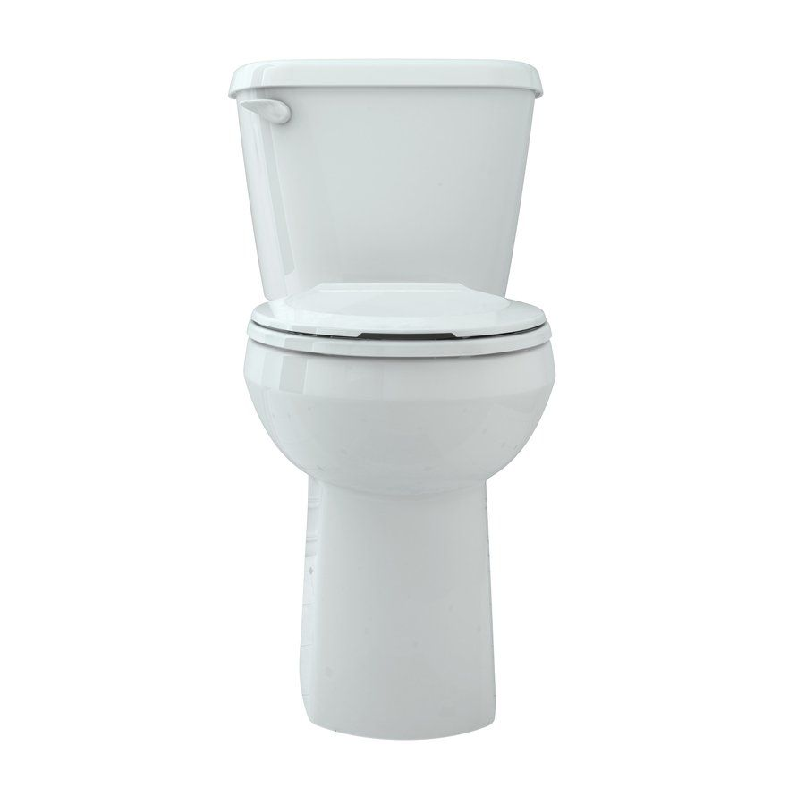 Shop American Standard 702BA154.020 Sonoma Chair Height Toilet at ...