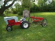 homemade hay rake for tractor - Google Search | Hay rakes and buck