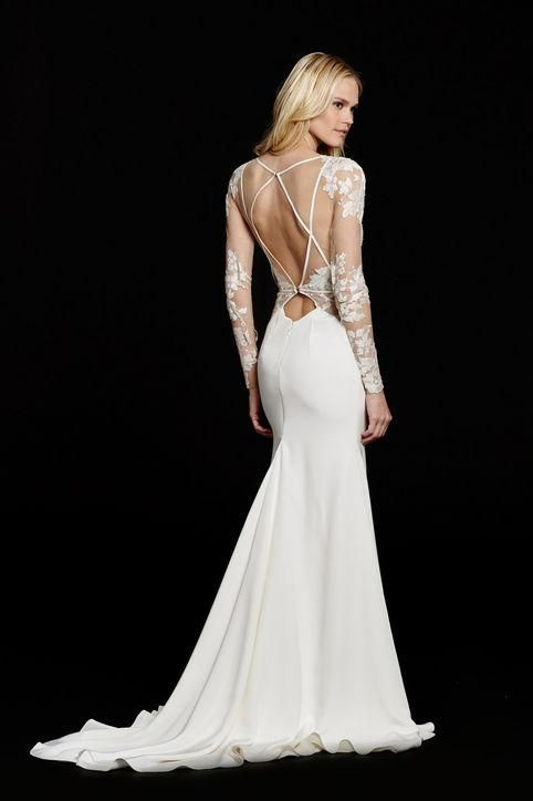 12 New Wedding Dresses That You Have To See From Behind Wedding Dress Long Sleeve Wedding Dress Sleeves Wedding Dresses