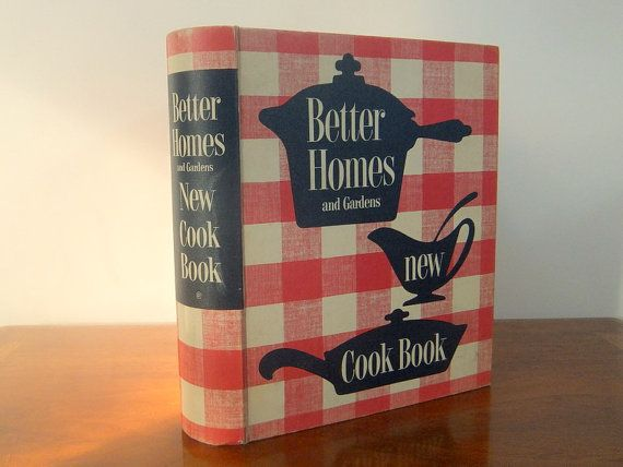 1950 s better homes gardens new cook book 1953 great graphics