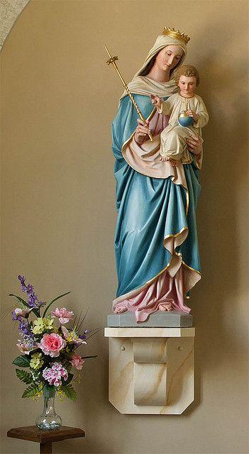 Catholic Religious Saint Statues   Saint Ignatius Loyola Roman Catholic Church, in Concord Hill, Missouri ...