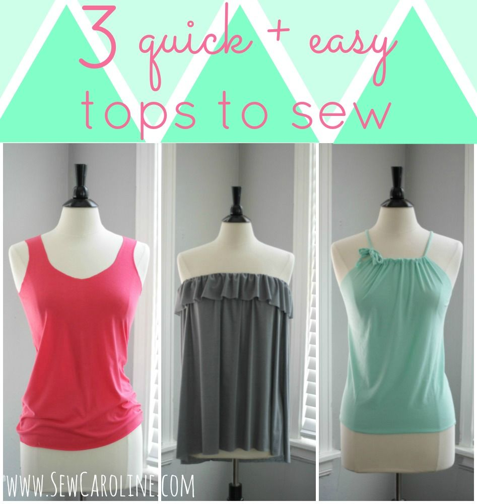 Easy Tops to Make