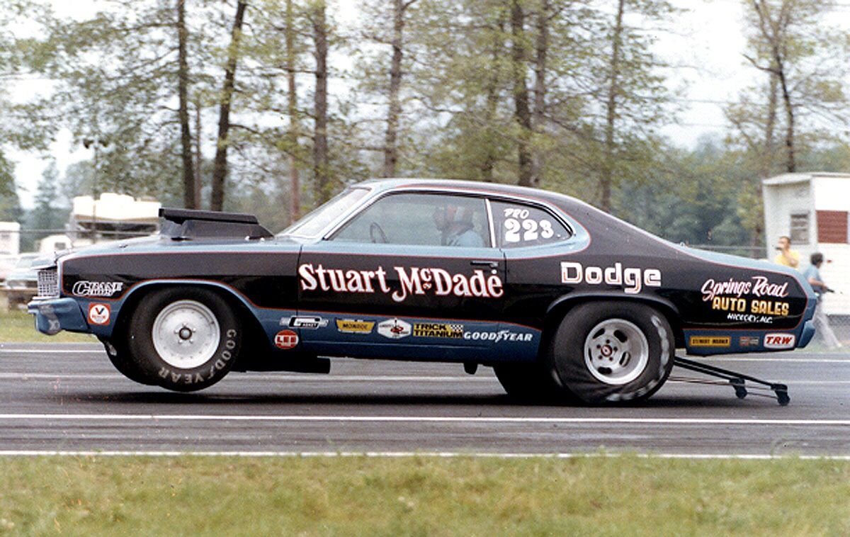 Stuart McDade * Drag racing, Car dealer, Nissan maxima