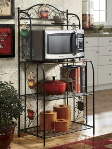 Coffee Microwave Stand | Microwave stand, Kitchen dining ...