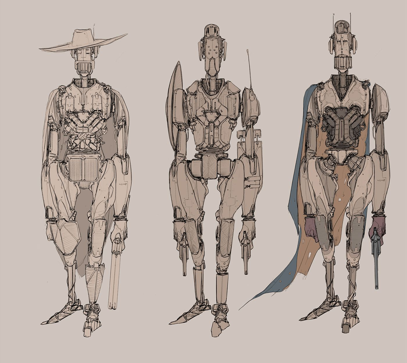 Digital Sketches And Process Vol 1 On Behance In