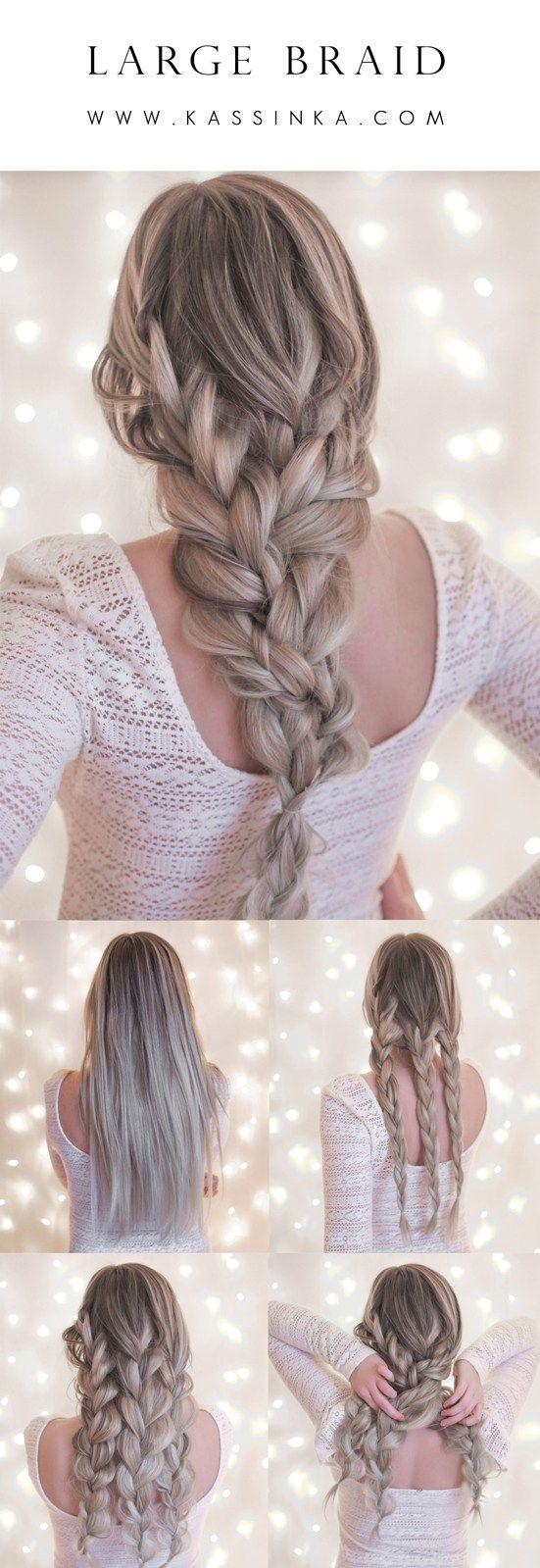 Kassinka hair tutorial cabello y belleza pinterest tutorials