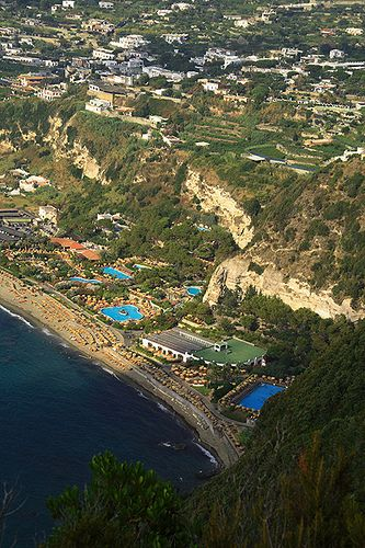 Forio d'Ischia, Giardini Poseidon, Bay of Naples, Italy