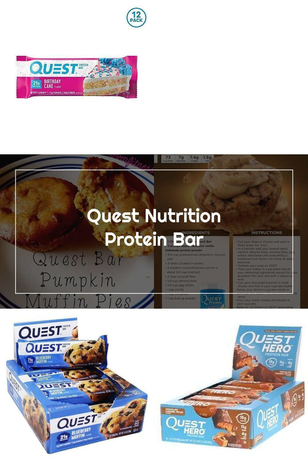 44+ Birthday cake protein bar quest inspirations