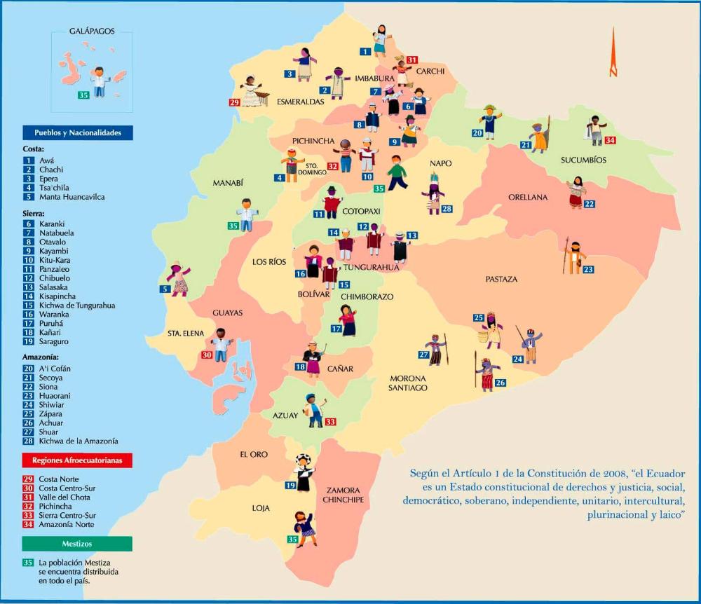 Variedades Lingüísticas Del Ecuador Tipos Y Ejemplos Foros Ecuador Ecuador Map Map Screenshot
