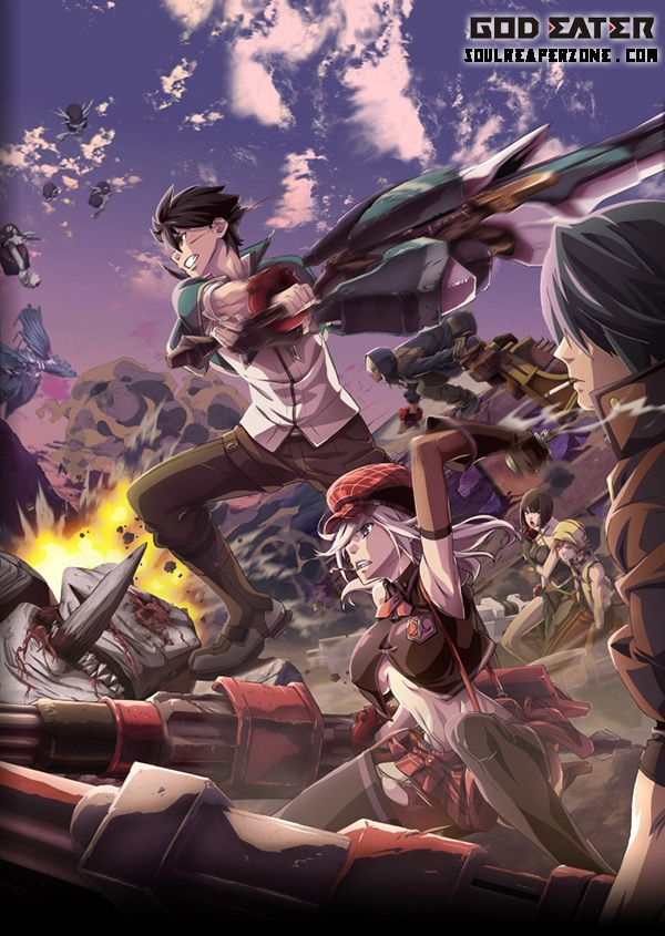 God Eater TV Anime, Anime characters, Eater