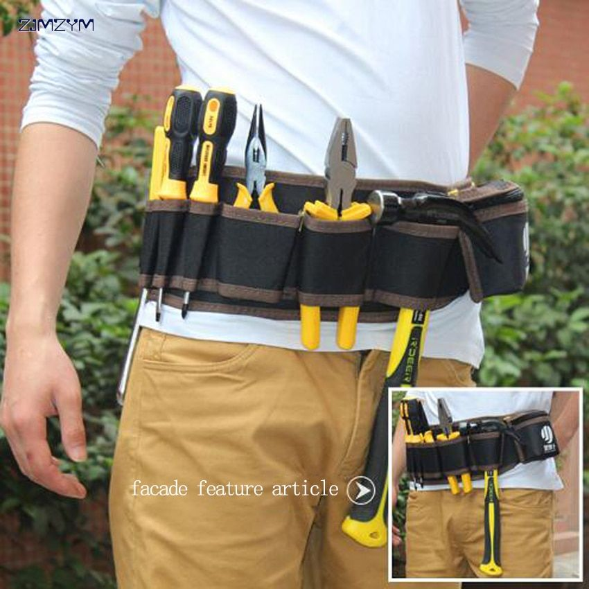 9ba0129cc735 Multi-color Electricians Tool Belt Repair Pouch Pocket Tool Waist ...