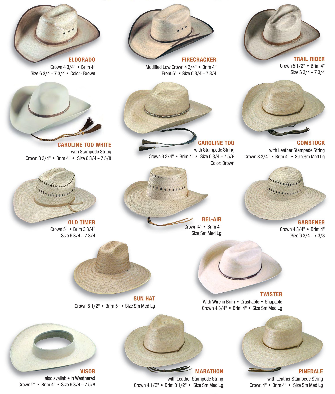 Cowboy Hat Styles Cowboy Hat Styles Cowboy Hats Hat Fashion
