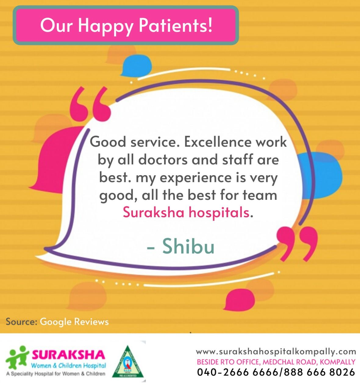 We strive to make your patients feel proud . 👉Contact Us