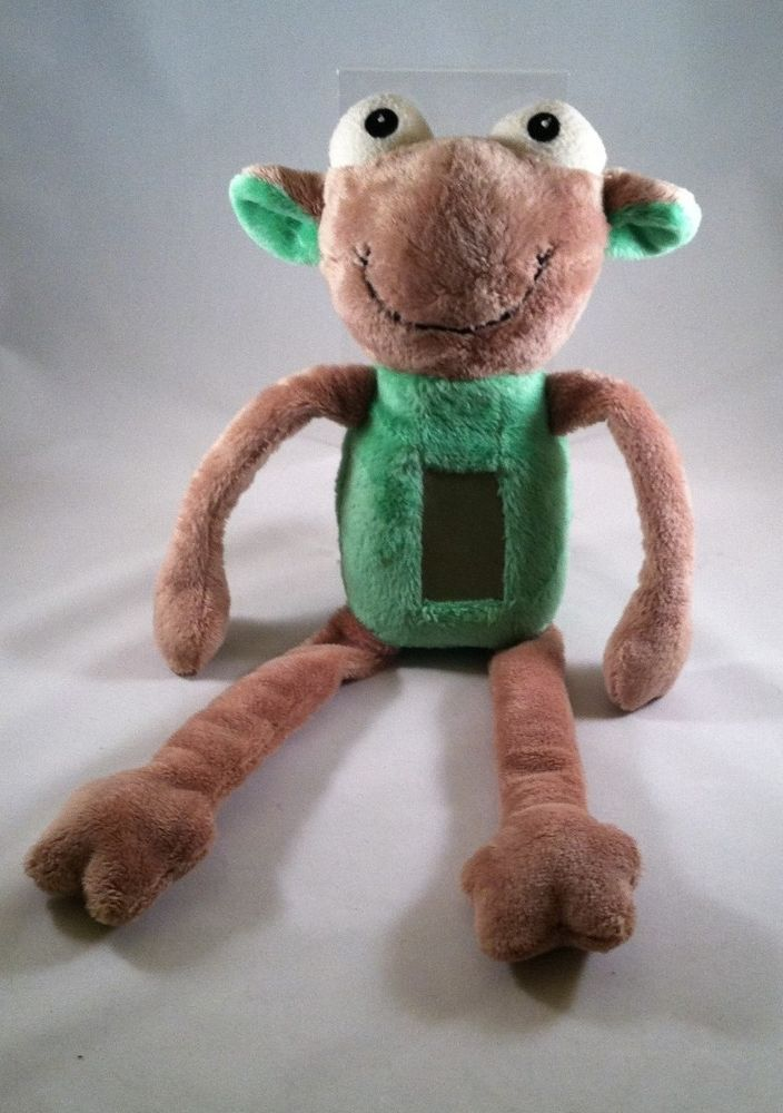 A Light In The Night Plush Animal Green Night Light Without Book