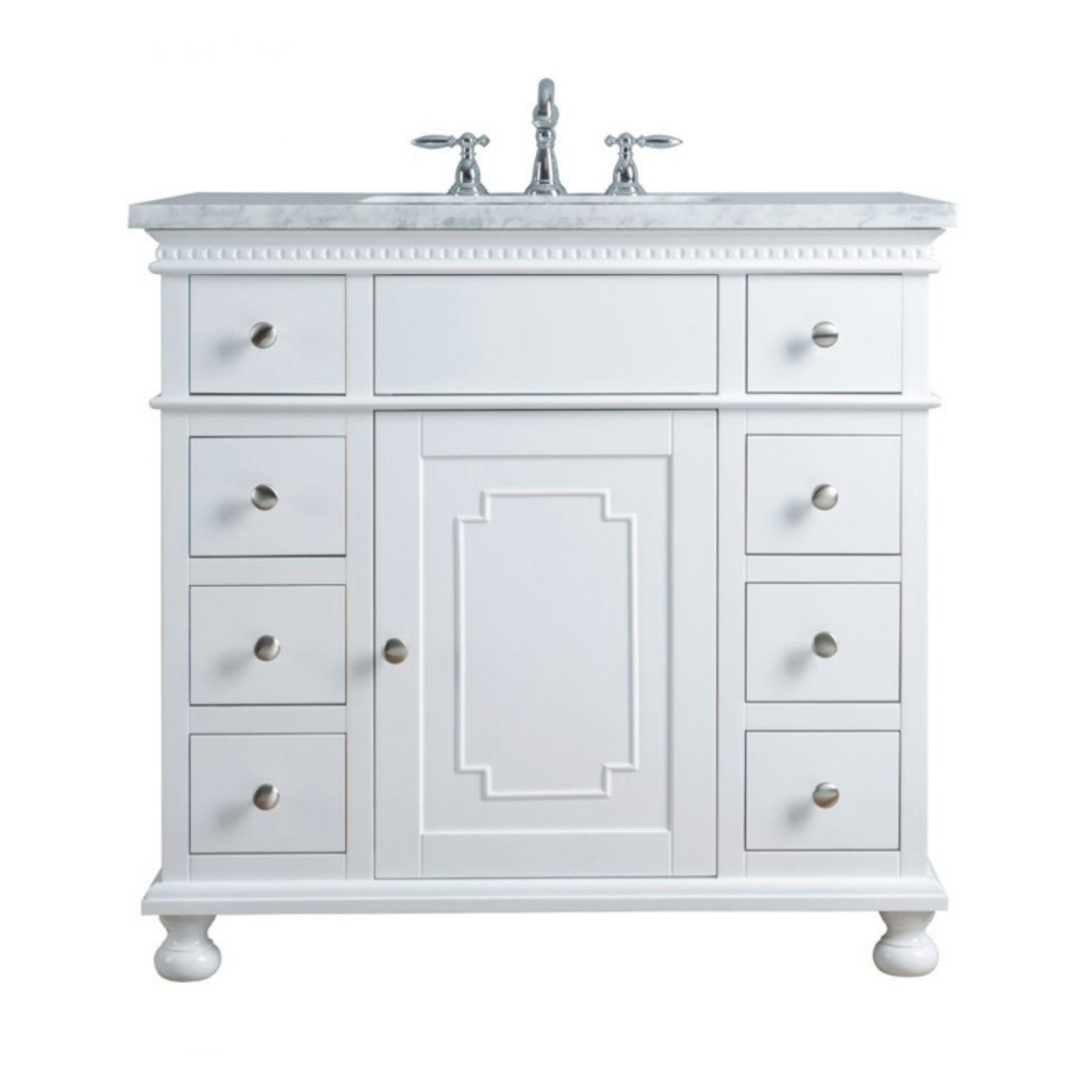 Embellished Single Sink Bathroom Vanity  97F54Da108Cf4D2Db031E60De78777Fd