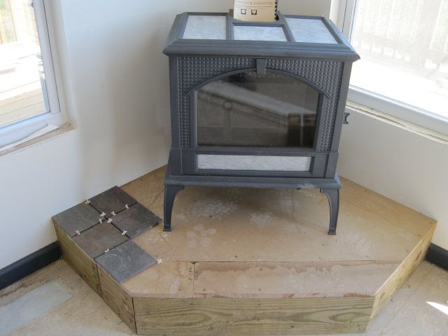 Stove On Hearth Seeing How It Fits Jpg 640 480 Pixels Wood Burning Stove Wood Stove Hearth Wood Stove