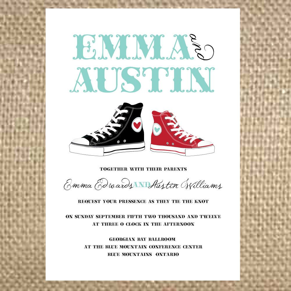 Wedding Invitations Shoes Buscar Con Google Idea Para Tarjetas