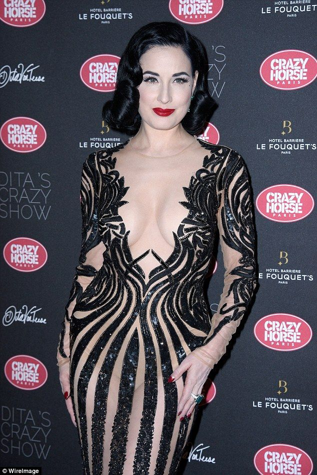 0a97a335dd7 Burlesque star Dita Von Teese opens up about her career start