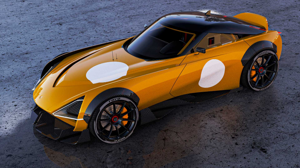 2022 Nissan 400z Rendering Envisions New Z In Road And Track Flavors In 2020 Nissan Z Nissan Toyota Supra