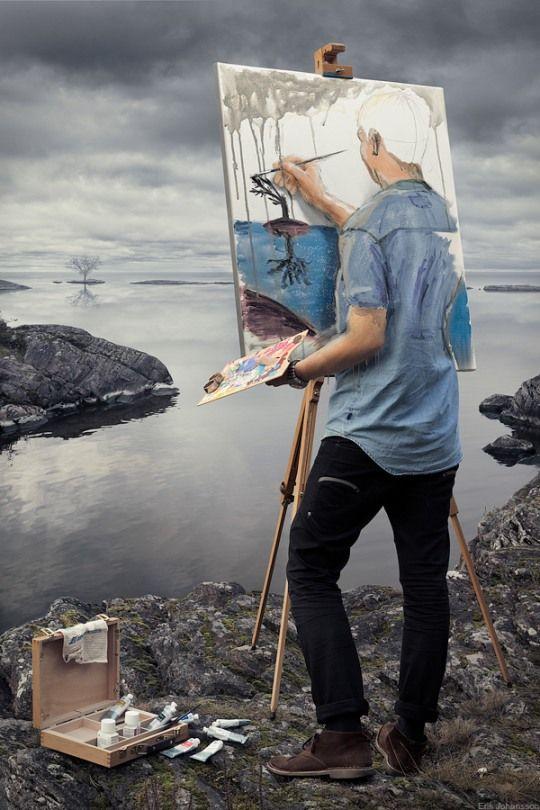 Znalezione obrazy dla zapytania artist painting