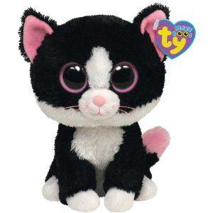 Ty Beanie Boos Pepper the Cat Boo plush, Ty stuffed