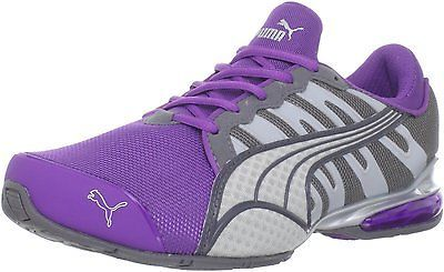 Puma Women s Voltaiv 3 NM Running Shoes-Purple Steel Quarry Silver 0081a931aa82