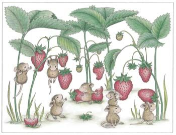 """""""Strawberry Fields"""" from House-Mouse Designs"""