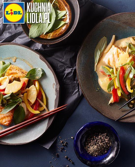 Tajski łosoś Curry W Mleczku Kokosowym Kuchnia Lidla Lidl