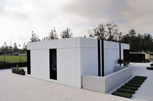 Equitone Facade Materials Modern House In Spain A Cero