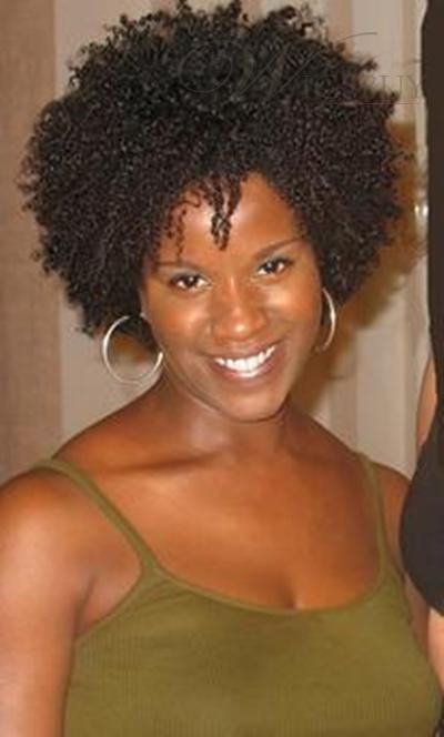 Short Natural African American Hairstyles Stunning Image Detail For African American Hairstyle Short Kinky Curly Dark