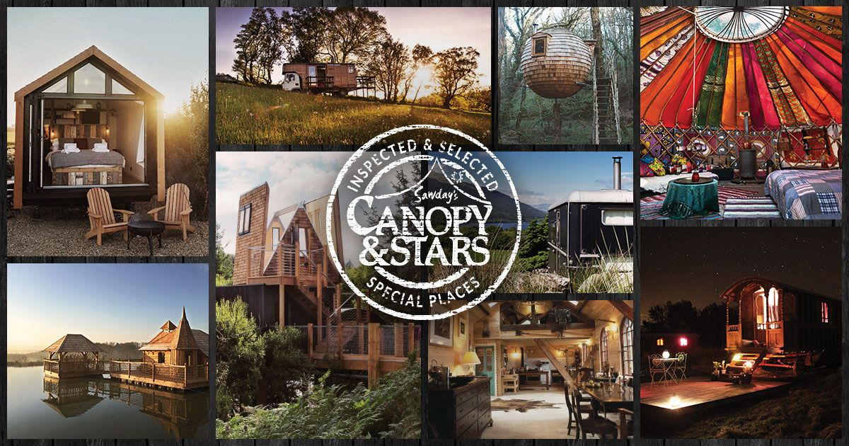 Sawdayu0027s Canopy u0026 Stars is a great collection of treehouses yurts cabins Gypsy & Sawdayu0027s Canopy u0026 Stars is a great collection of treehouses yurts ...