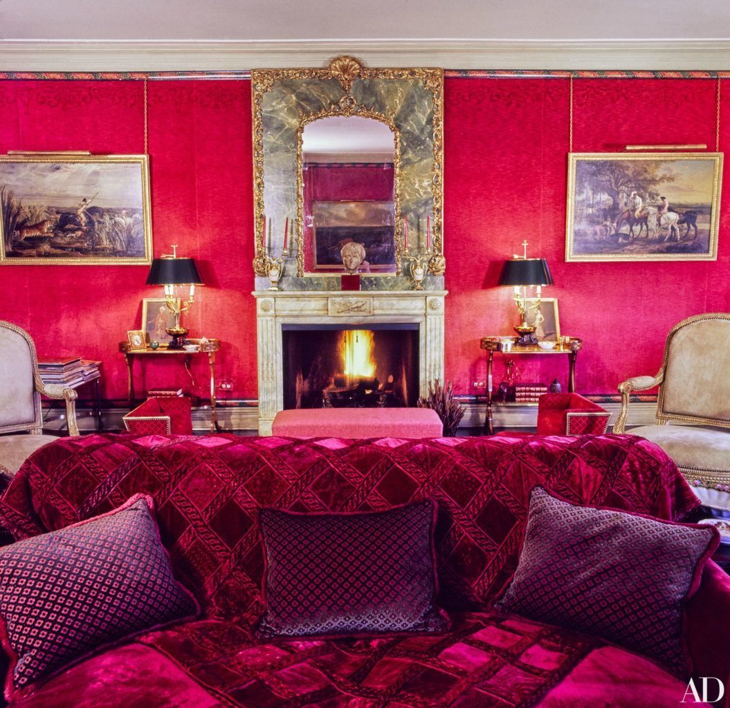 Park Lane Apartments Knebworth: Lee Radziwill's Timeless Interiors