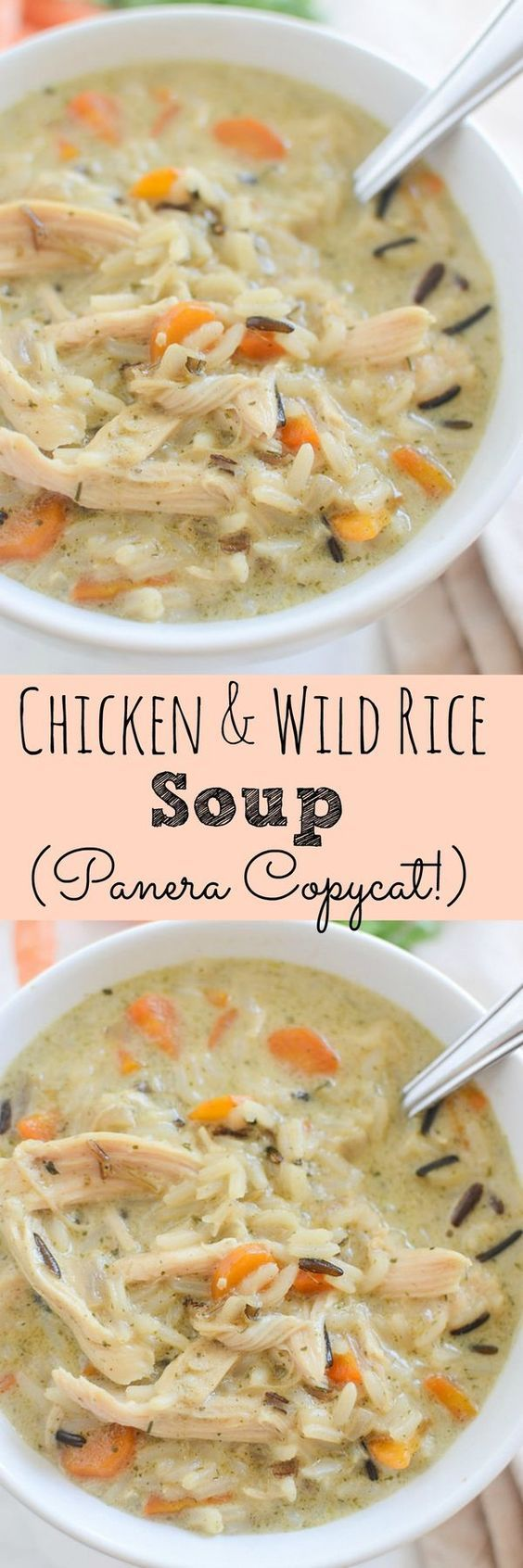 Copycat Recipe For Panera S Chicken And Wild Rice Soup