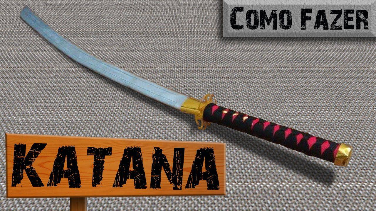 Katana de PVC - Como Fazer - (Espada Japonesa)