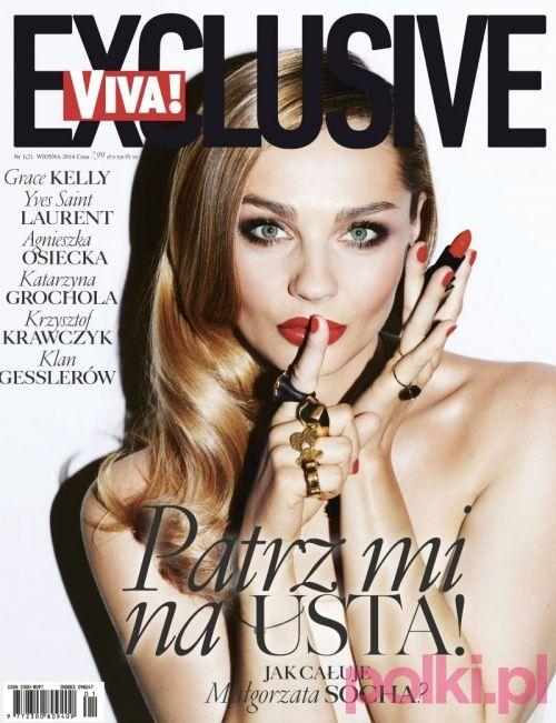 Małgorzata Socha na okładce Vivy! Exclusive