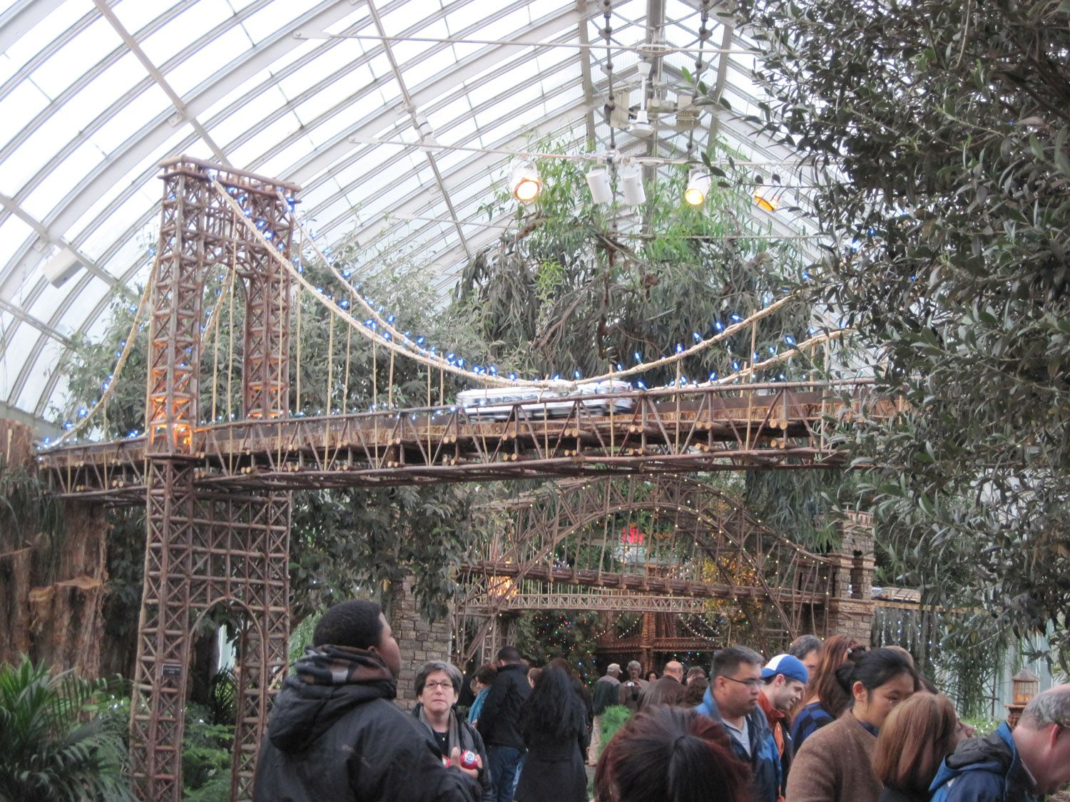 Holiday Train Show New York Botanical Gardens | Holiday Train Show |  Pinterest