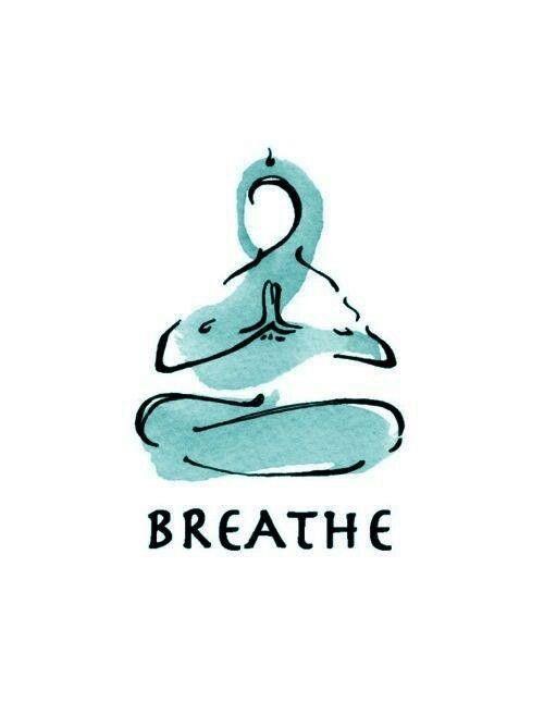 Just Breathe | Buddha | Yoga art, Yoga, Yoga meditation